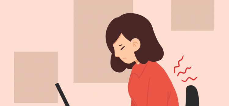 5 Langkah Mudah Mencegah Nyeri Punggung Akibat WFH dan Kelas Online